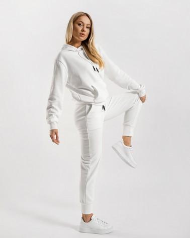 Трикотажний костюм від FASHIONISTA білий