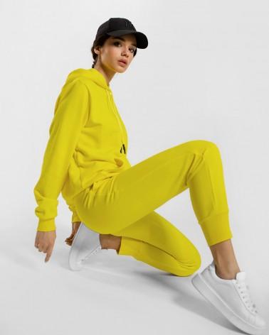 Трикотажний костюм від FASHIONISTA жовтий