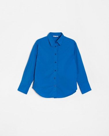 Сорочка Basic від FASHIONISTA яскраво-синій