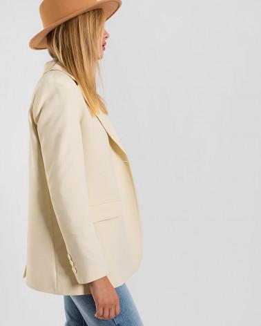Піджак базовий однотонний від FASHIONISTA молочний