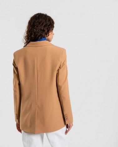 Піджак базовий однотонний від FASHIONISTA пісочний