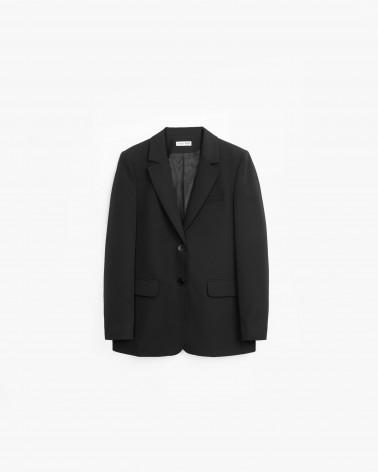Піджак базовий однотонний від FASHIONISTA чорний