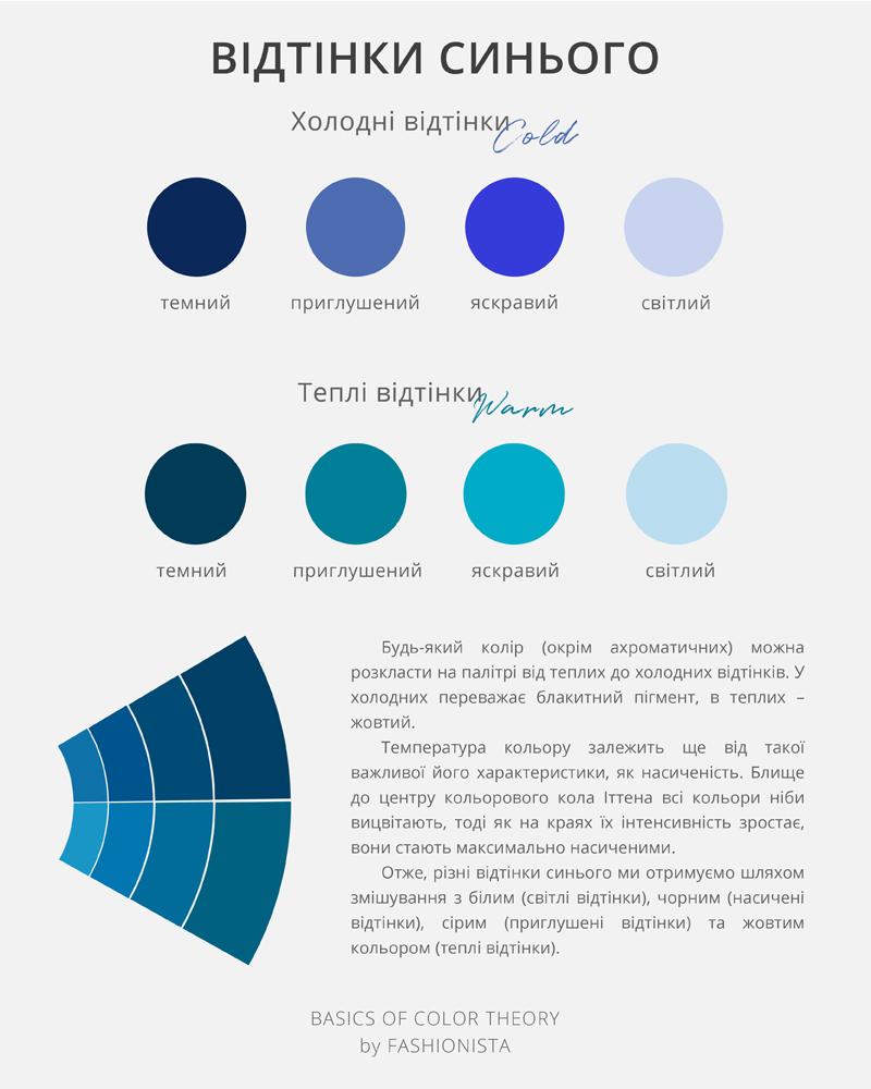 BLUE COLOUR BY FASHIONISTA